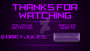 Obey Jules outro by EcripArts