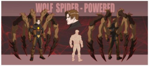 USM: WOLF SPIDER - POWERED by Jerome-K-Moore