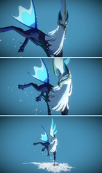Silvally-Ice (interactive model in description) by Earldense