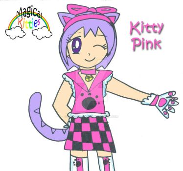 Kitty Pink by Magical-Kitties