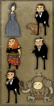 Jane Eyre and Mr. Rochesters by Sir-Heartsalot