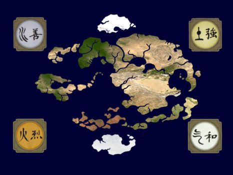 Real Avatar Map By Jeffrey Scott On DeviantArt
