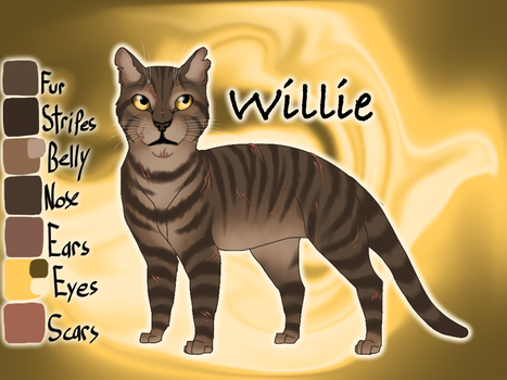 Willie of BloodClan - Sushi's Society by Jayie-The-Hufflepuff