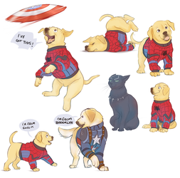 Civil War sketches by Fennethianell