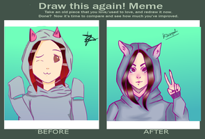 Meme  Before And After By Bampire-d2xu044 by KseniaMat