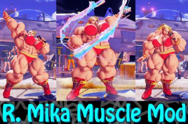 R. Mika Muscle Mod Commission by Ripped-Pixels