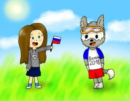 Me and Zabivaka by YuliaRabbid