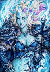 Frost Lich Jaina by Candra
