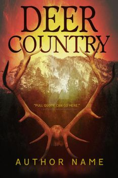 Deer Country Book Cover by DLR-Designs