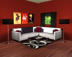 The Living Room by Sneaks77