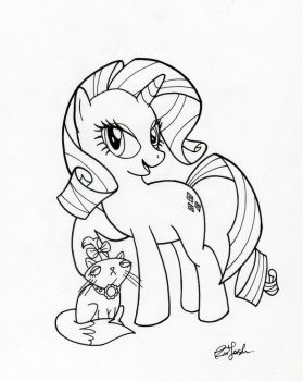 Rarity and Opal by BillForster