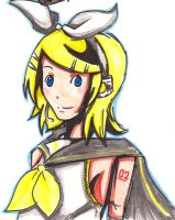 Kagamine Rin by Melodious-Artist
