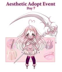 Aesthetic Event: Day 7 [1/1 OPEN] by Mewpyonadopts