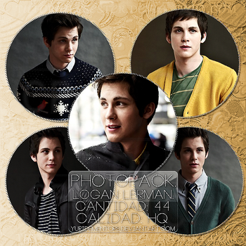 01. Logan Lerman by YuriDementors