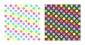 Polkadot Rainbow Pattern-Stock by Mezzochan