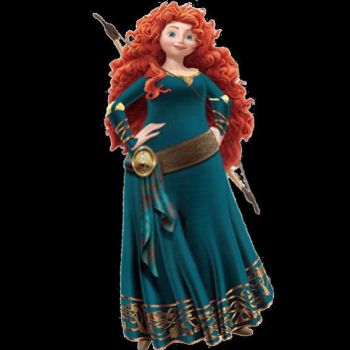 Fat Merida Normal Outfit by arceebigbellymanes