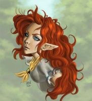 Malon portrait by Wictorian-Art