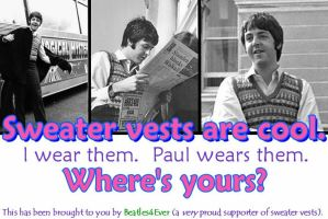 Sweater Vests by Beatles4Ever