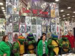 Ninja Turtles in my booth at dallas comic con by ChrisOzFulton