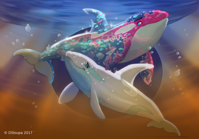 Opal and Cristal by Strawberry-Loupa