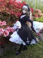 Suigintou BJD - My enchanted Garden by AngyValentine
