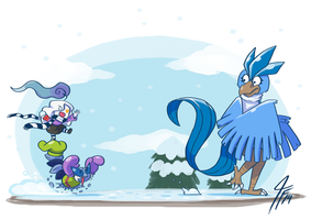 PKMNC - Riding to the Snowball War