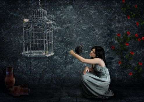 alone by nadinedavid