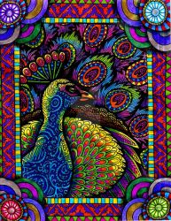 Colors of the Peacock (SOLD) by HGCreations