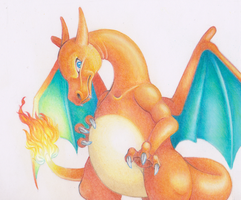 A wild Charizard appeared! by EtherealGalaxia