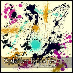 Splatter 6 by mcbadshoes