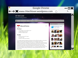 Google Chrome In Metro Updated by NikketCH