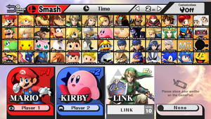 MY Super Smash Bros for Wii U and 3DS Roster by PichuThePokemon