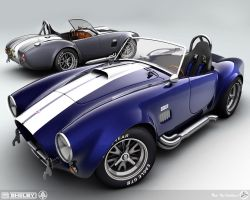 1965 Shelby Cobra's by AfroAfroguy