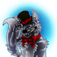 .:Max The Wolf:. redraw. by JuliArt15