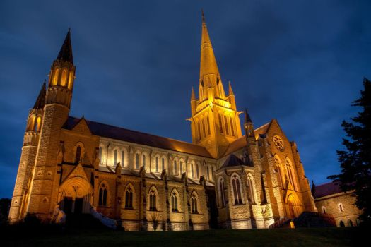 Sacred Heart Cathedral by Bjay70