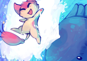 Skitty Used Splash!