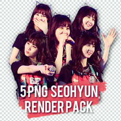 5 SEOHYUN RENDERS PACK by BabyHyunnie