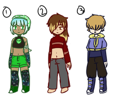 Crop Top Adopts CLOSED by Quiet-Retribution