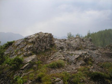 Landscape stock 66 mountains by Finsternis-stock