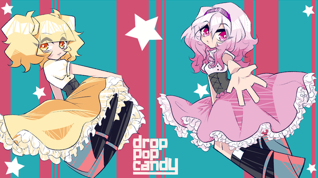 UTAU - drop pop candy by MishaRoute