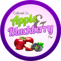 Apple and Blackberry Pie by Echilon