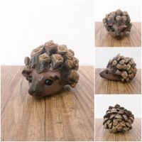 Lilliput Mr Hedgehog by MyselfMasked