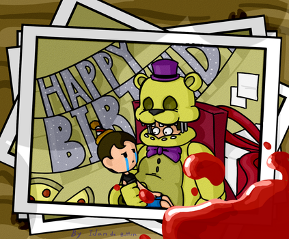 Birthday At FredBear's by QuackafART