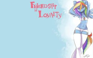 Friendship Is Loyalty by dahliabee