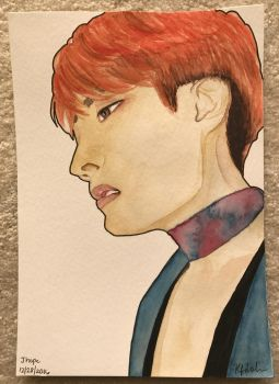Jhope, King of Dance and Choreography by Shas123