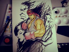 Street Fighter by DarroldHansen