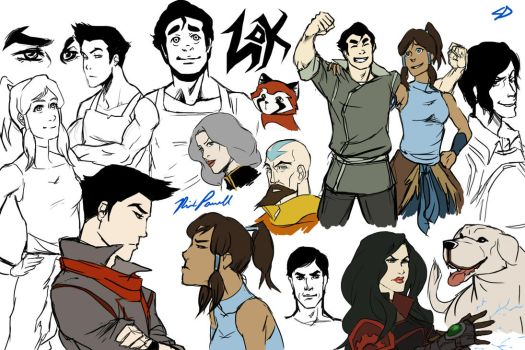 LoK stuffs by ScarletDusk