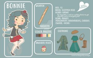 [OPEN - SET PRICE] Bonnie the Scottish Fold by veeveeyan