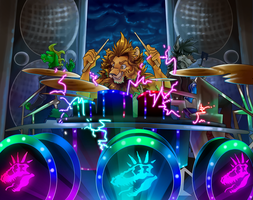 Nightriders Battle of the Bands Part 23 by AxlReigns