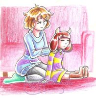 UT: Quality Time by hopelessromantic721